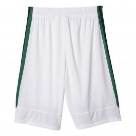 Adidas Short Poly Commander Bianco/Verde