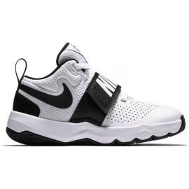 Nike Bambino Team Hustle 8 Ps Bianco/Nero