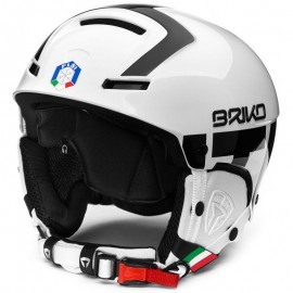Briko Casco Faito Fisi   White/Black