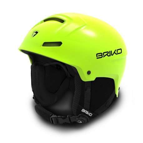 Briko Casco Mammoth   Yellow Fluo