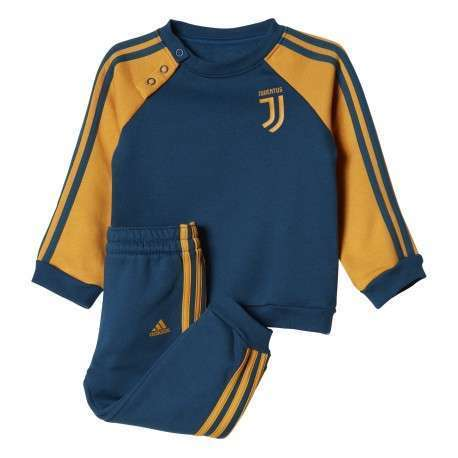 Adidas Tuta bambino Juve 3s By  Blu/Giallo