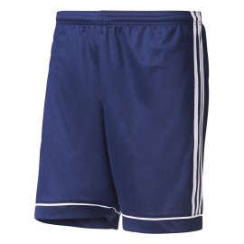 Adidas Short Squadra Team  Blu/Bianco Uomo