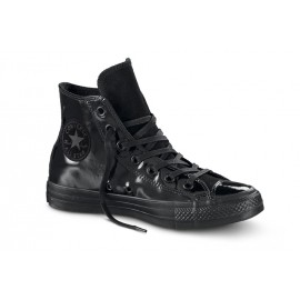 Converse All Star Hi Patent Suede Nero