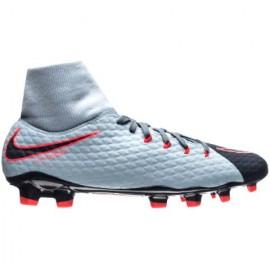 Nike Hypervenom Phelon 3 Df Fg Grigio/Nero