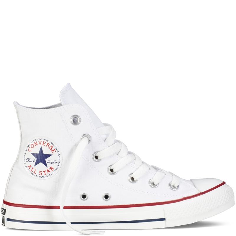Converse All Star Hi Canvas Core Optical White Uomo