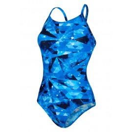 Speedo Costume W Train Cosmic Thin Blue/Navy