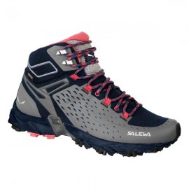 Salewa Pedula Donna Alpenrose Mid GORE-TEX Night Black/Red