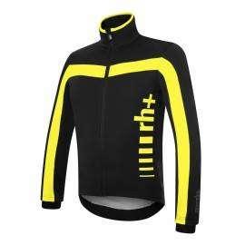 RH+ Giacca Logo Evo Black/Fluo Yellow