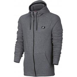 Nike Felpa Full Zip Capp Modern Grigio