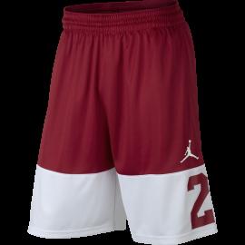 Nike Short Rise 23 Rosso/Bianco