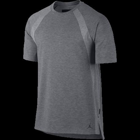 Nike T-Shirt Jordan Tech Grigio