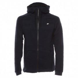 Nike Felpa Zip e Cappuccio Blu 7de380a39b03