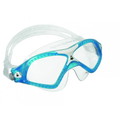 Aqua Sphere Maschera Seal Xp 2 Clear Lens Blu