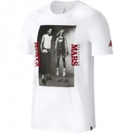 Nike T-Shirt Stampa Jordan Bianco