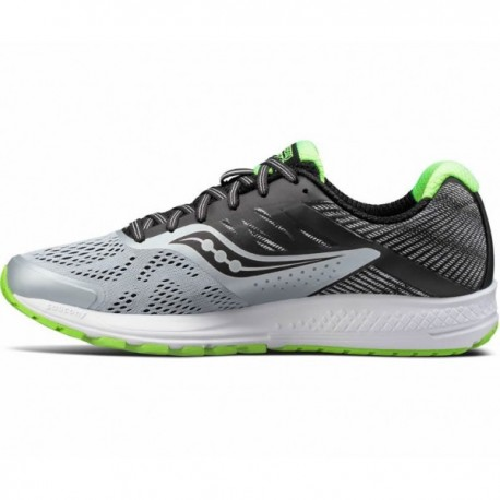 Saucony Ride 10 Gray/Black