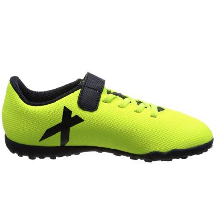the best attitude 633b0 94081 calcio ADIDAS scarpa junior x 17.4 tf giallo nero s82421 - acquista.