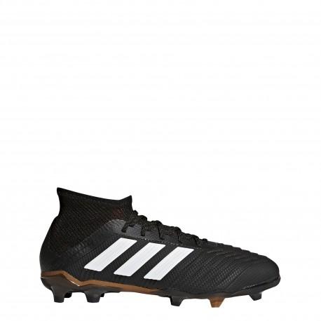 Adidas Scarpa Bambino Predator 18.1 Fg Black/Red