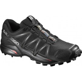 Salomon  Speedcross 4  Black/Sulphure Spring
