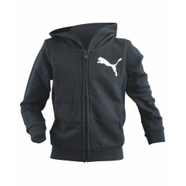 Puma Felpa Junior Cap/Zip Girl 37 Black