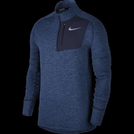 Nike T-Shirt Ml Run Thrma Sphr Elmnt Hz Obsidian