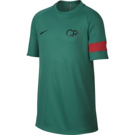 Nike T-Shirt Mm Cr7 Dry Acedemy Green/Black