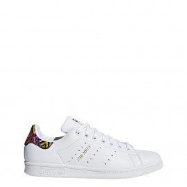 Adidas Donna Stan Smith Bianco/F.Sia
