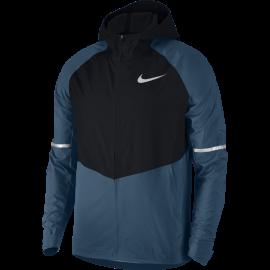Nike Giacca Running Aeroshield Znl Hd Blue Force/Black