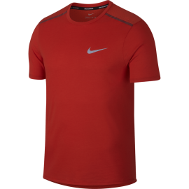 Nike T-shirt Mm Rn Brt Tailwind Habanero Red/Team Red