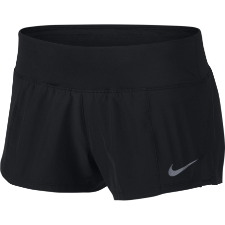 Nike Shorts Running Dry Crew Donna Black