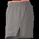 Nike Short 5'' Run Elvtd Donna Particle/Crimson