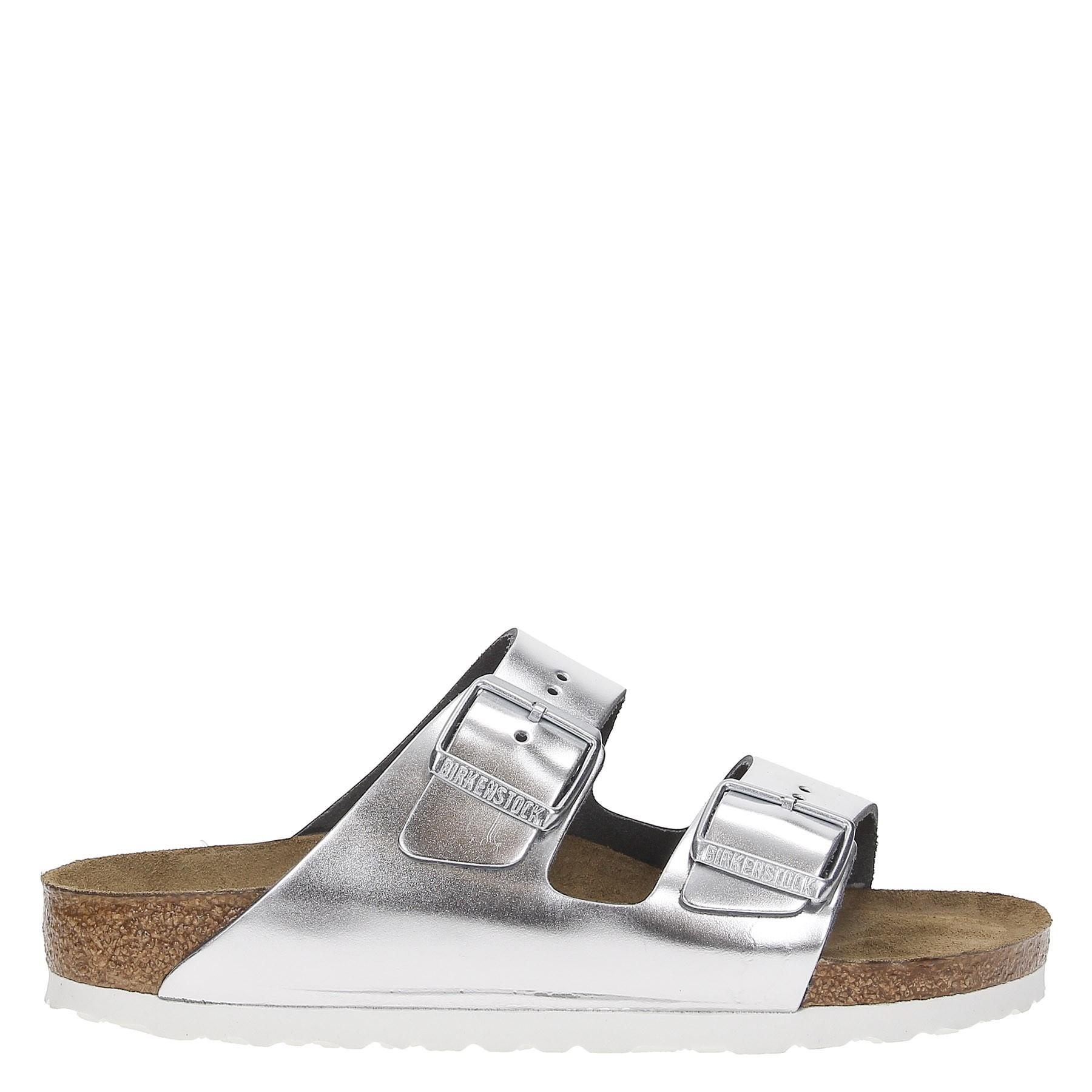 WRg5jiGZc5 Sandalo Donna Arizona Metal Argento