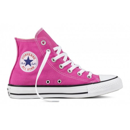 Converse Donna Canvas Hi Seasonal Hyper Magenta