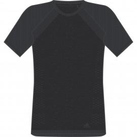 Adidas T-Shirt Mm Run ultra Light Black/Carbon CF6022