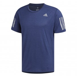 Adidas T-Shirt Mm Run Response Cooler Noble Indigo