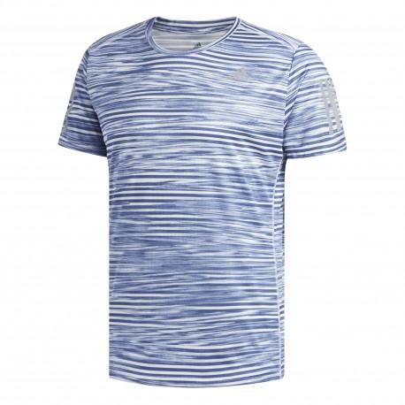 Adidas T-Shirt Mm Run Response Printer Noble Indigo