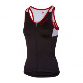 Castelli Canotta Solare Donna Black/White/Red