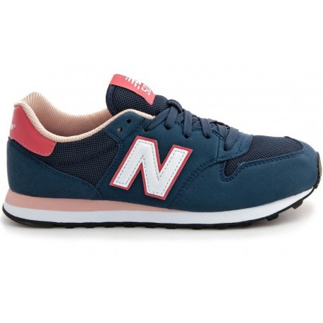 low priced 74c1f c2a9c Style New Balance Donna 500 Suede/Mesh Blu/Salmone NBGW500-NP - Acq...