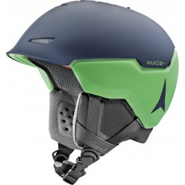 Atomic Casco Sci Revent + Amd Blu Scuro Verde Uomo