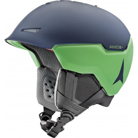 Atomic Casco Revent + AMD Dark Blue/Green