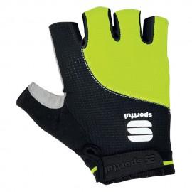 Sportful Guanto Giro Black/Yellow Fluo