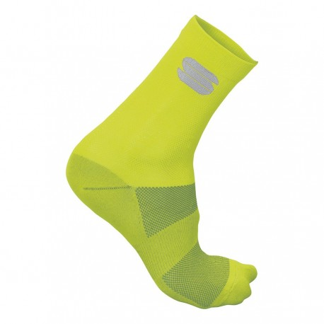 Sportful Calza Ride 15 Yellow Fluo