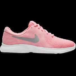 Nike Junior Revolution 4 Gs Rosa/Grigio