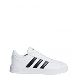 Adidas Junior Court 2.0 Bianco/Nero