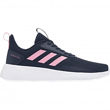 Adidas Junior Questar Drive Nero/Rosa