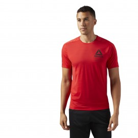 Reebok T-Shirt Train Rosso