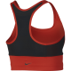 Nike Bra Donna Pocket Train Habanero Red/Black