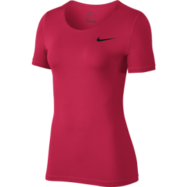 Nike T-Shirt Donna Over Mesh Train Racer Pink