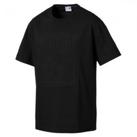 Puma T-Shirt Big Logo Nero