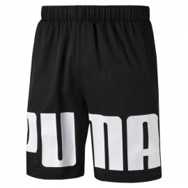 Puma Shorts Big Logo Nero