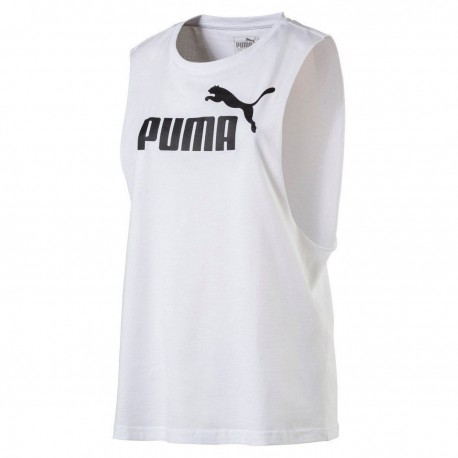 Puma T-Shirt Donna Sman Bianco
